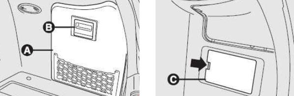Блок предохранителей в багажнике (правая сторона)
