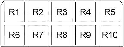 Блок реле №2