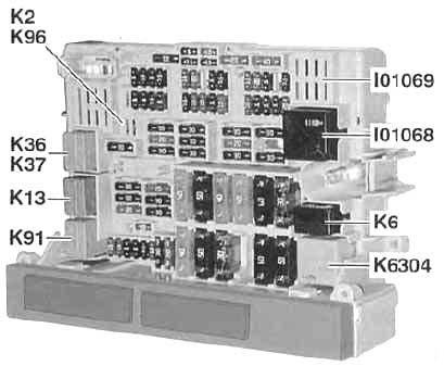 BMW 3-Series (2005-2010) Fuse Diagram • FuseCheck.com | Bmw E90 Fuse Box Diagram |  | Fuse box