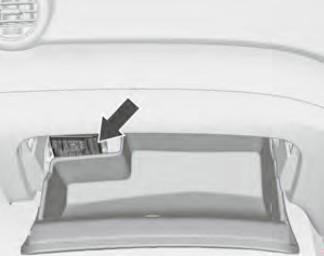 Расположение блока предохранителей в моторном отсеке (RHD)