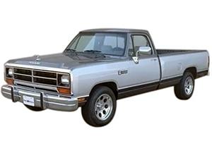 Dodge Ram 100, 150, 250, 350 (1981-1993)