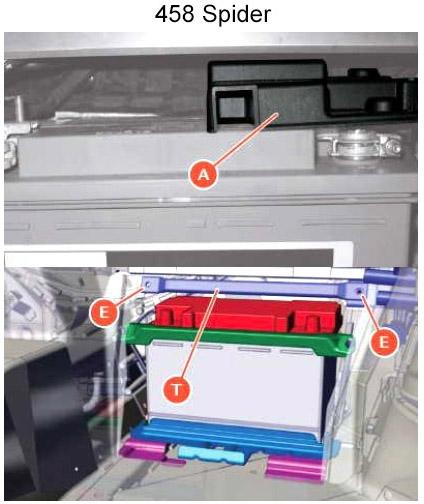 Расположение основных предохранителей в аккумуляторном отсеке