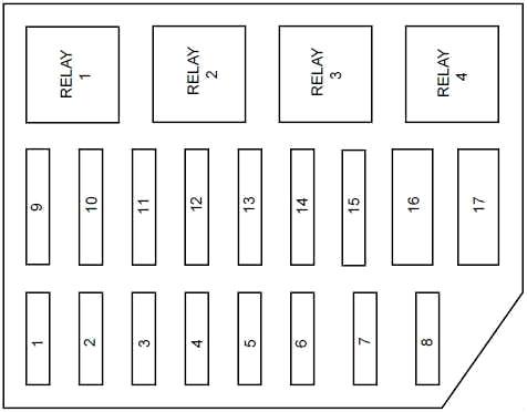 ford crown victoria (1998-2002) fuse diagram • fusecheck.com  fuse box