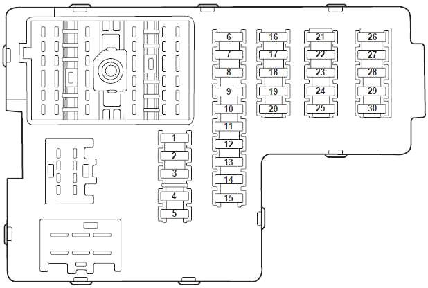 Ford Explorer 2000 2005 Fuse Diagram Fusecheck Com