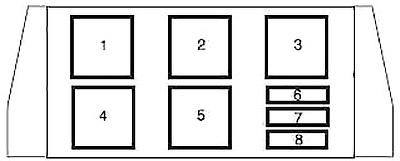 Блок дополнительных реле