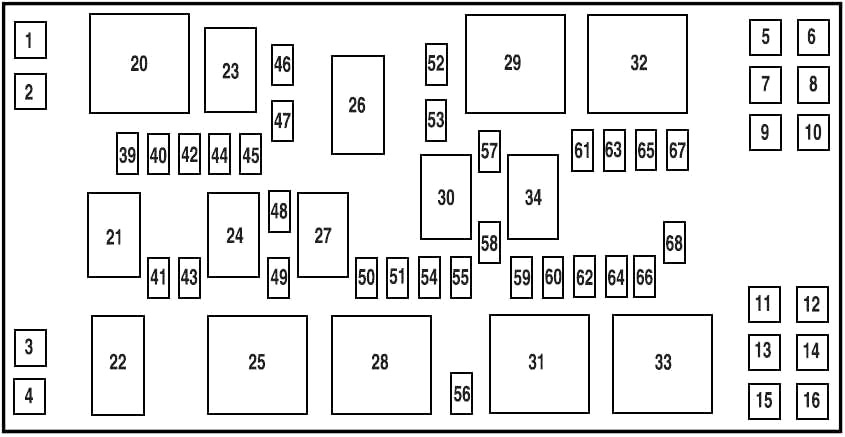 2005 Ford Mustang Fuse Panel Diagram Qiye 125cc Engine Wiring Diagram Begeboy Wiring Diagram Source