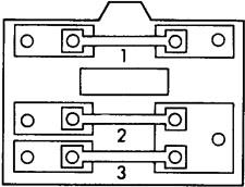 Схема блока предохранителей в моторном отсеке (CR-X)