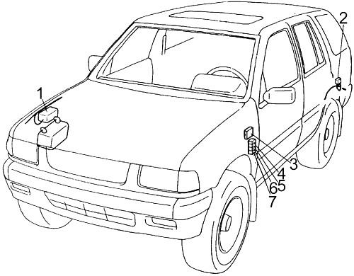 Honda Passport  1993