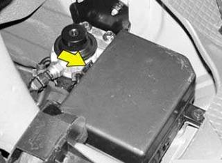 Engine Compartment Fuse Box Location