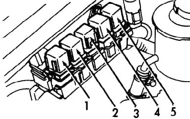 Реле M / T модели (1990-1993)
