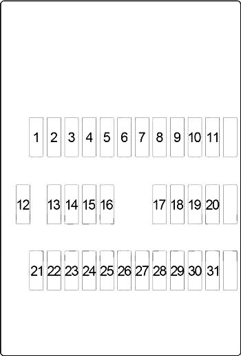 infiniti i30 i35 1999 2004 fuse diagram fusecheck com Car Fuse Box Diagram