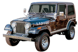 Jeep CJ-7 and Scrambler (1978-1986)