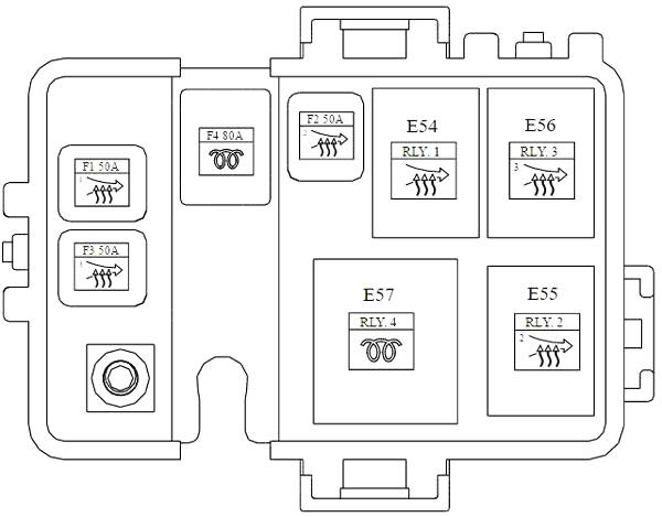Additional Fuse Box Diagram (Diesel)