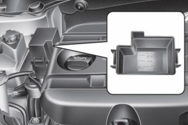 Additional Fuse Box Location (Diesel)