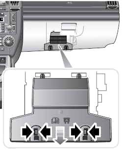 Instrument Panel Fuse Box Location (2006-2012)