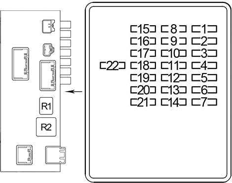 Lexus Ls 430 Xf30 2000 2006 Fuse Diagram Fusecheck Com