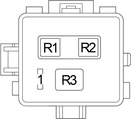 Блок реле №2 (2000-2003 гг.)