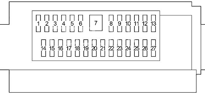 lexus ls 460 (xf40) (2007-2012) fuse diagram • fusecheck.com  fusecheck.com fusecheck.com