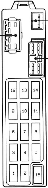 DIAGRAM] 95 Mazda Mx 6 Fuse Box Diagram FULL Version HD Quality Box Diagram  - SCARYDIAGRAMS.GENAZZANOBUONCONSIGLIO.IT