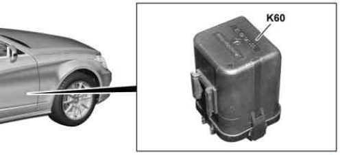 Coolant circulation pump relay