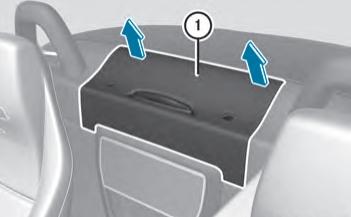 Расположение блока предохранителей в багажном отделении (родстер)