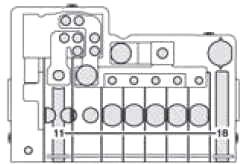 Блок предохранителей (F59 / 8)