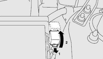 Блок предохранителей в моторном отсеке B