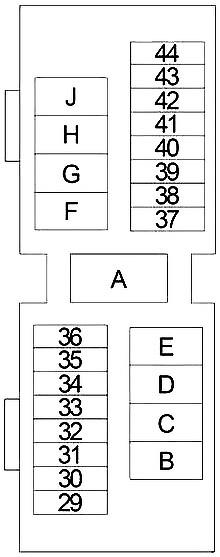 Nissan Altima (1998-2001) Fuse Diagram • FuseCheck.com | 1998 Nissan Altima Fuse Box Diagram |  | Fuse box