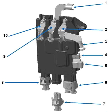 Блок распределения электроэнергии