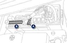 Engine Compartment Fuse Box Location (2)