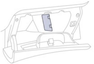 Passenger Compartment Fuse Box Location (right)