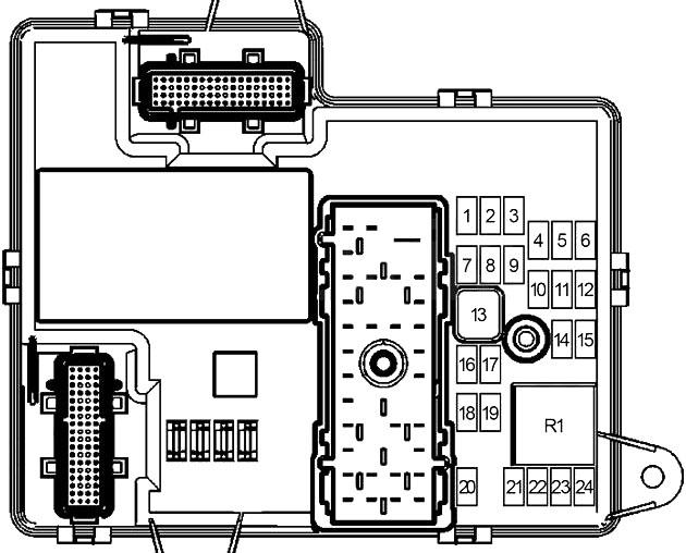 pontiac g6 (2005-2010) fuse diagram • fusecheck.com  fuse box