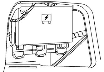 Расположение блока предохранителей в багажном отделении