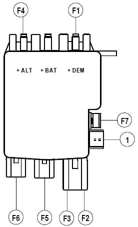 Блок за аккумулятором