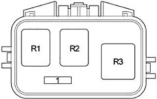 Scion xB (2004-2007) Fuse Diagram • FuseCheck.com
