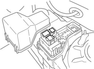 Дополнительный блок предохранителей (1CD-FTV)
