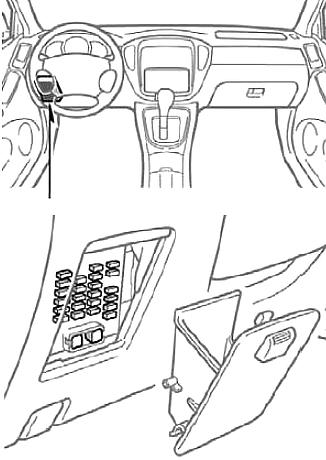 Toyota Highlander (XU20) (2001-2007) Fuse Diagram ...