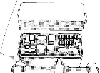 Toyota Hilux, T100, Pickup (1989-1997) Fuse Diagram ...