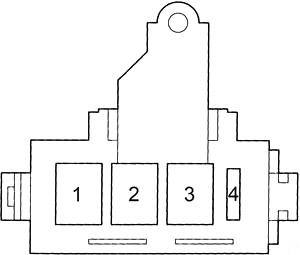 Блок плавкой вставки