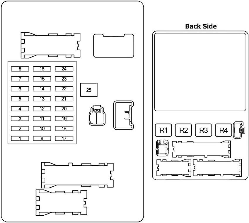 Diagram  2013 Ta Fuse Box Diagram Full Version Hd Quality