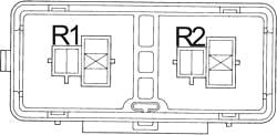 Блок реле кондиционера