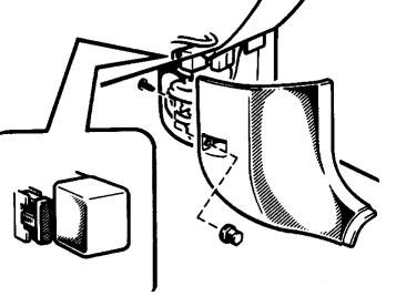 Блок предохранителей (№3) Расположение
