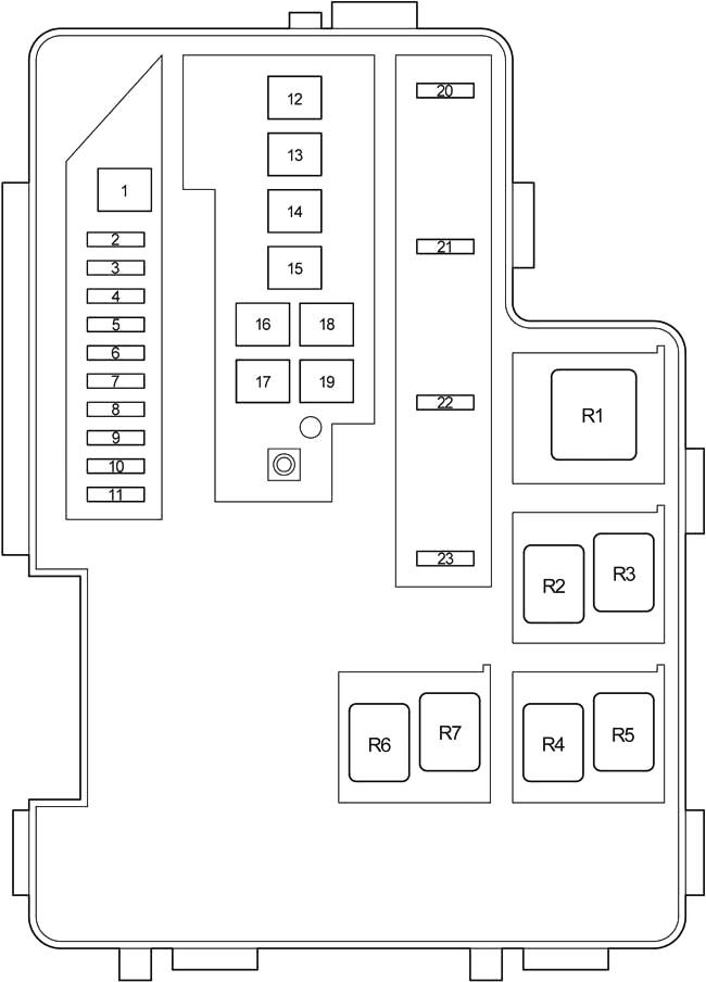 toyota rav4 (xa30) (2006-2012) fuse diagram • fusecheck.com  fuse box