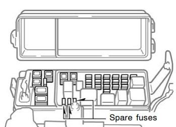 Toyota Tundra Double Cab (2004-2006) Fuse Diagram ...