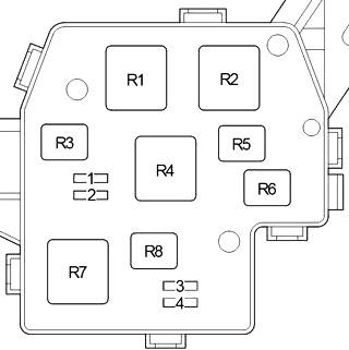 Блок реле №2 (с ДХО)