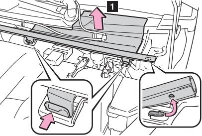 Расположение блока плавкой вставки