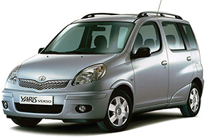 Toyota Yaris Verso & Echo Verso (1999-2005)