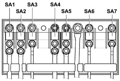 Engine Compartment Fuse Box Diagram (Type 2)