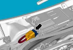 Heated windscreen relay