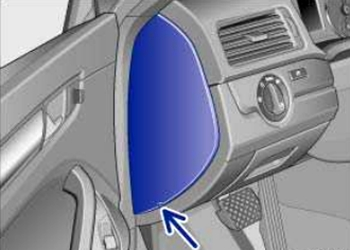 Left Instrument Panel Fuse Box Location